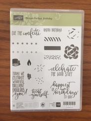 Picture Perfect Birthday Stamp Set